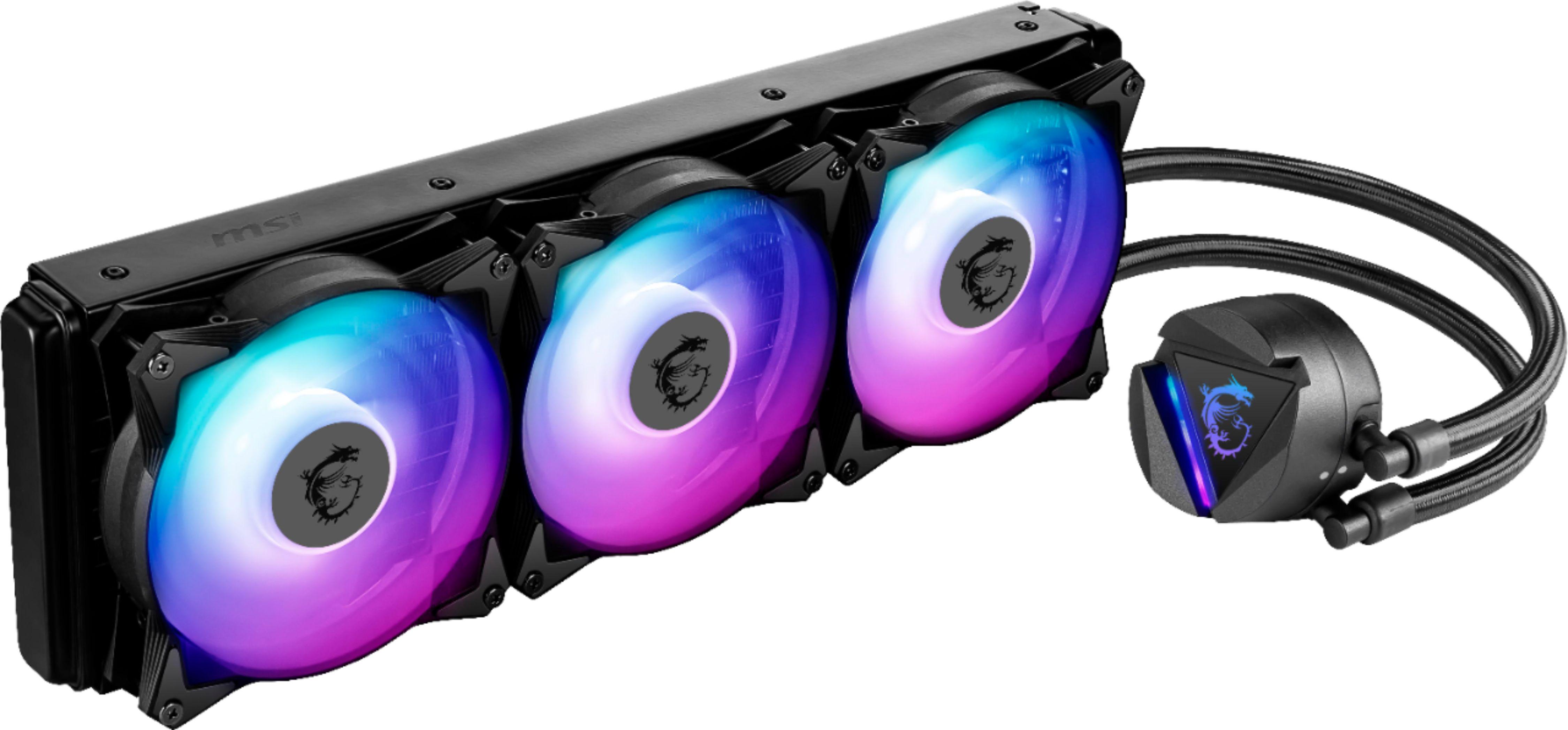 MSI - MAG CORELIQUID 360R AIO ARGB CPU Liquid Cooler $110