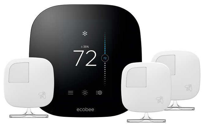 Costco Members Ecobee3 Wifi Thermostat 3 Room Sensors
