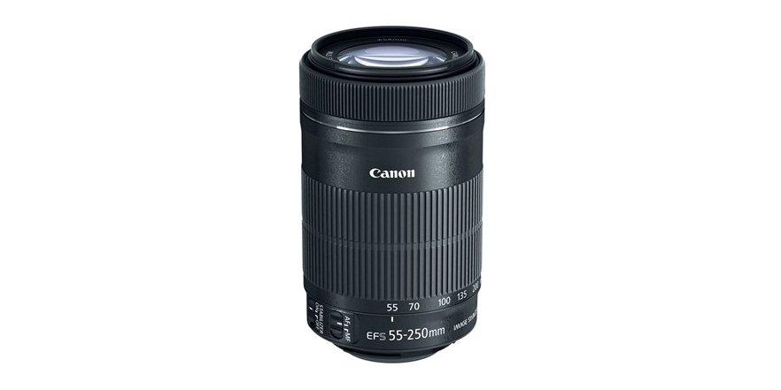 Canon EF-S 55-250mm f/4-5.6 IS STM Lens $159.99