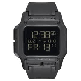 Navy Exchange - Nixon Men's Regulus All Black Watch, 46mm - $55.78  + No Tax (Military Only)