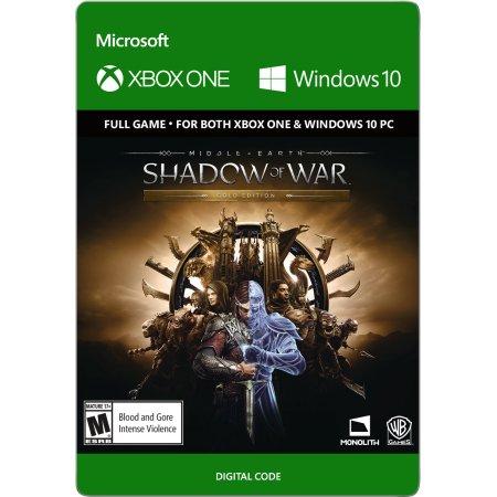 PRICE ERROR: Xbox One Shadow of War Gold Edition Digital Code - $10