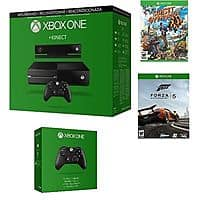 Microsoft Certified Xbox One Kinect 500GB Console 2 GAME BUNDLE w/ 2 Controllers (Refurbished) - $  300 + FS (Includes Forza 5 Download + Sunset Overdrive) @ EBAY