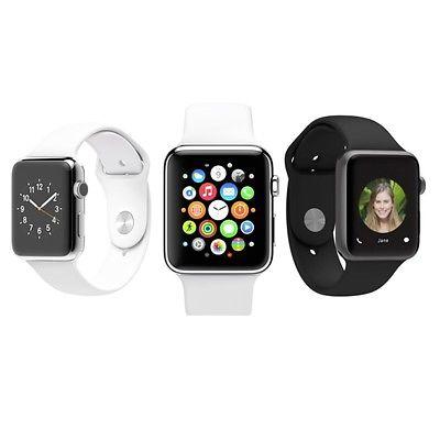 Apple Smart Watch 38mm Aluminum Case with Sport Band ( Manufacturer Refurbished) - $199.99 + FS (mobilepros1 via eBay)