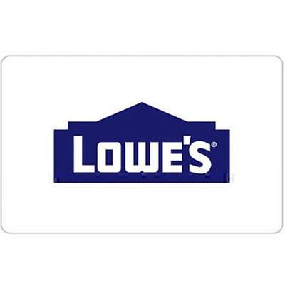 Buy $200 Lowe's Gift Card Get a bonus $25 code (2 Cards) - Fast Email delivery @ eBay