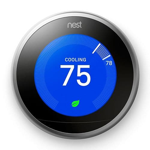 kohls - Nest Learning Thermostat (3rd Generation) on sale for $220 + Earn $40 in Kohl's cash + FS