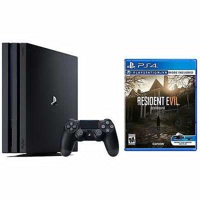 New PlayStation 4 Pro 1TB Console Bundle + Resident Evil 7 Biohazard - $400 + FS Newegg via eBay