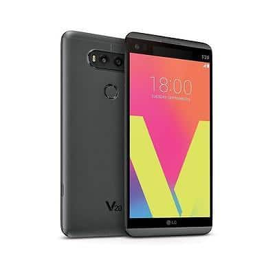"""LG V20 LS997 64GB Sprint Touchscreen Camera 5.7"""" Android Smartphone Titan Black, Compatible with Sprint, Ting, FreedomPop (New other) - $300 + FS cellular stream via eBa"""