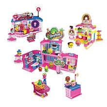 ToysRus - 50% off All Shopkins Kinstructions playsets (Deluxe shopville playset $25.99, shopville Town centre $13.49, deluxe super market $13.49, ice cream shop $9.49 & more items)