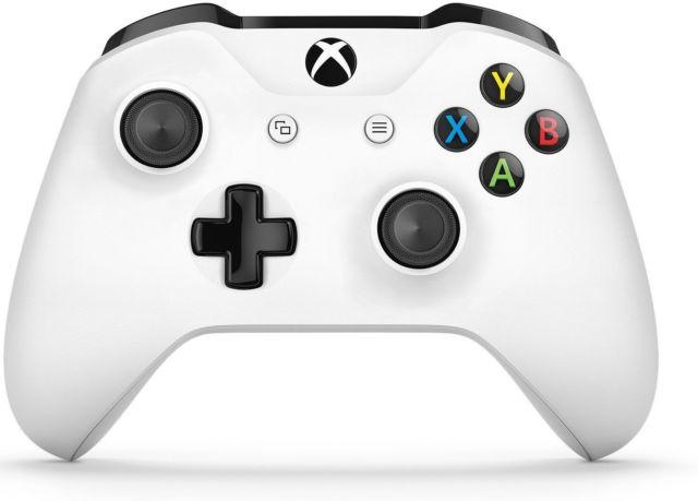New Microsoft Xbox wireless controller - force feedback white - $35.99 + FS @ eBay