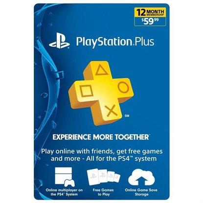 1 Year Playstation Plus PSN Membership Card - $47.19 w/coupon + Earn $2.35 in RSP + FS @ Rakuten