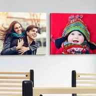 """Two 16""""x20"""" Custom Premium Canvas Wraps from Canvas on Demand (shipping included) for $29.60 w/coupon @ Groupon"""