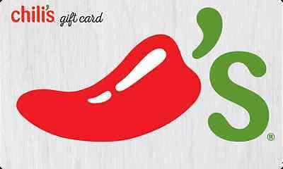 $50 chilli's gc for $42.50 + FS svmgiftcards via eBay