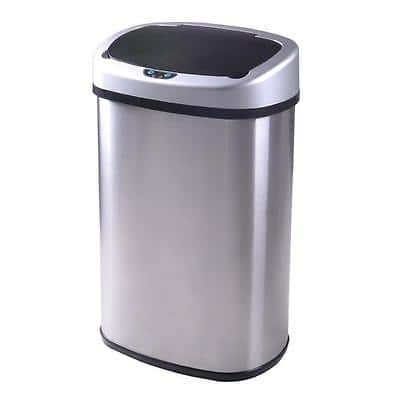 New 13-Gallon Touch Free Sensor Automatic Touchless Trash Can Kitchen Office for $32 w/coupon code + FS @ eBay