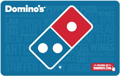 $50 Domino's Gift Card and get $10 code - Fast Email Delivery @ eBay