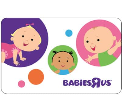 Buy a $25 babiesrus GC + get an additional $5 ($30 value) + free email delivery @ eBay