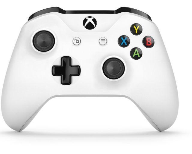 New Xbox one S wireless controller white for $36.99 + FS @ eBay
