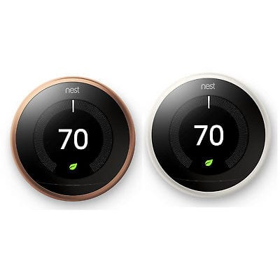 New Nest Learning Smart Thermostat 3rd Generation Works Alexa for $200 + FS @ eBay