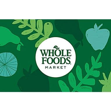 $100 whole foods market GC for $90 + free email delivery @ Staples