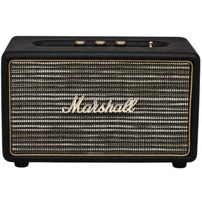 Marshall ACTONBTBLK Acton Bluetooth Speaker - Black for $128 w/coupon + FS @ Rakuten