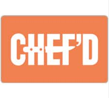 $40 chef'd gift card for $30 + free email delivery @ eBay