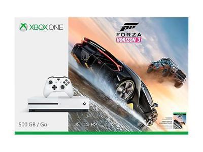 New Xbox One S 500GB Console - Forza Horizon 3 Bundle $199.99 + FS Newegg via eBay