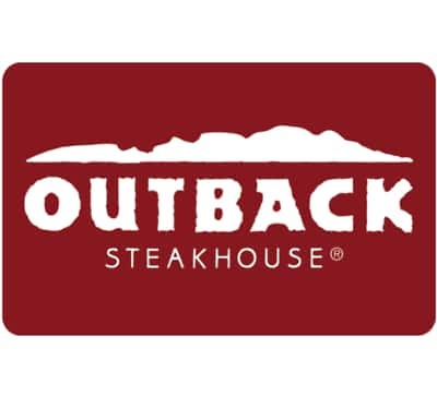 Get a $100 Outback Steakhouse Gift Card for only $92 - Email delivery @ eBay