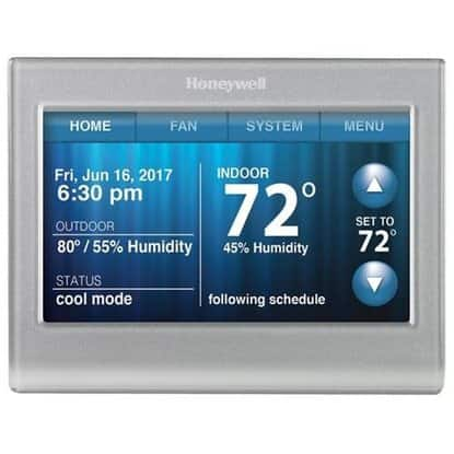 Honeywell Wi-Fi Smart Thermostat (RTH9580WF) - For Fan - Alexa Supported for $135 w/coupon code + Earn 15% back in RSP ($20) + FS @ Rakuten