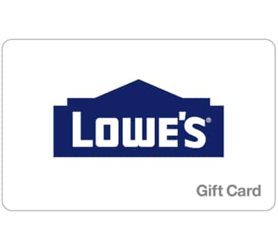 Buy a $200 Lowe's GiftCard, get a Bonus $25 gift code (2 codes) - Emailed @ eBay