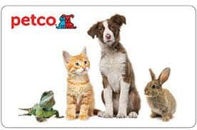$50 Petco gift card for $45 + email delivery @ Staples