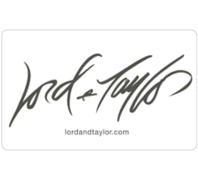 $50 Lord & Taylor Gift Card and save $10 - Fast Email Delivery @ eBay