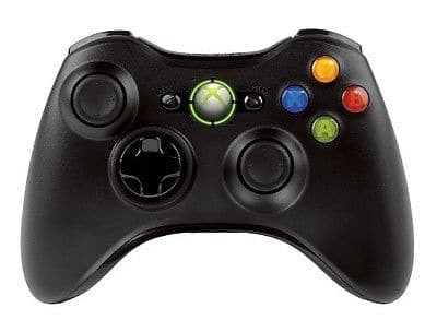 Official Microsoft Xbox 360 Wireless Controller Black - New open box for $21.99 + FS @ eBay