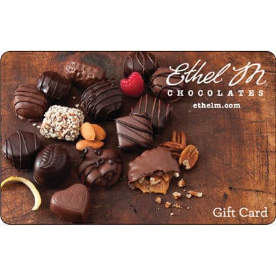 $50 Ethel M Chocolates Gift Card For $40 - FREE Mail Delivery svmgiftcards via eBay, limit 5