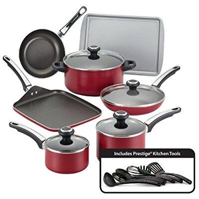 17-Pc Faberware high performance Nonstick Cookware Set + $15 in Kohls Cash $43.99 after 20% coupon & rebate + free shipping @ KOHL'S