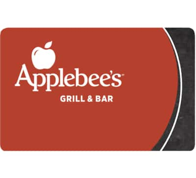 Buy 2*$25 Applebee's Gift Card for $40 + free email delivery @ eBay