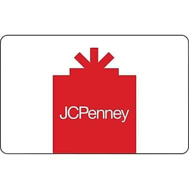 $50 JcPenney gift card for $40 (Email delivery) @ Staples