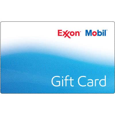 $100 ExxonMobil Gas Gift Card For $93 - FREE Mail Delivery @ eBay