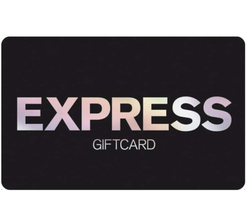 $25 Express gift card for $20 + email delivery @ eBay