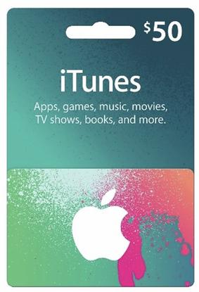 $50 iTunes gift card for $42.50 w/coupon code + FS @ Rakuten