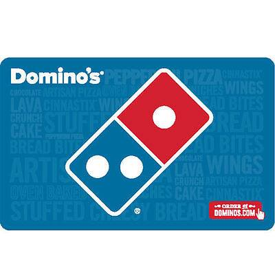 Buy a $25 Domino's Pizza Gift Card and get additional $5 ($30 value) - Emailed @ eBay