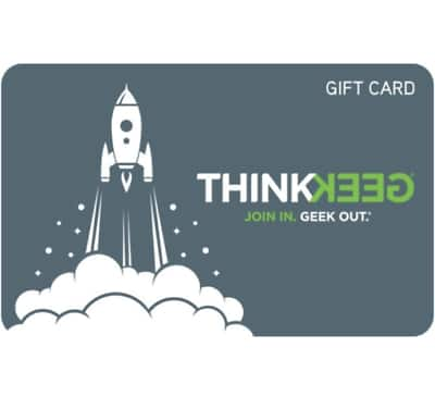$100 Gamestop Thinkgeek Gift Card for $90 - Email delivery @ eBay