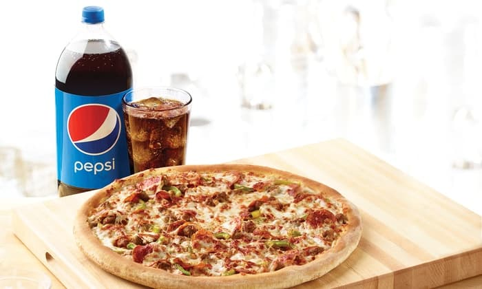 Papa John's LG 1-Topping Pizza + 2L for $10 (Code NEW10) + Up to Extra $5 Back @ Groupon