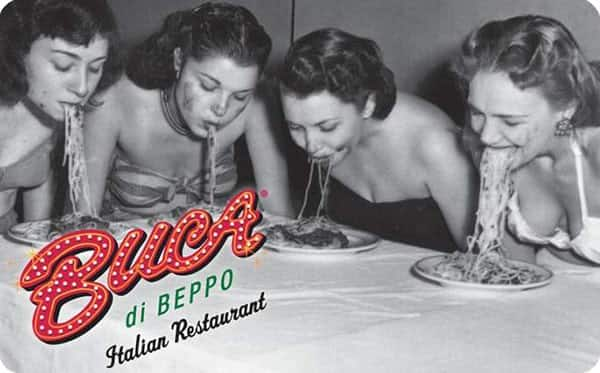 $50 Buca di beppo gc for $40, $50 Spafinder GC for $40 + email delivery @ PPDG