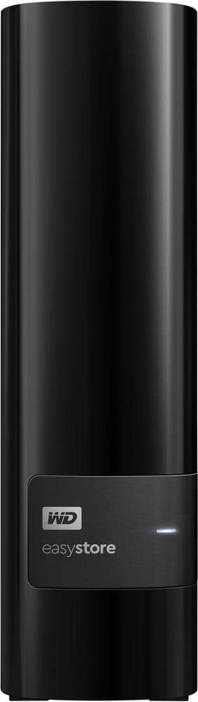 Ebay Mobile App: WD WDBCKA0080HBK EasyStore 8TB USB 3.0 External Hard Drive - Black for $135 w/coupon code + FS @ eBay mobile app