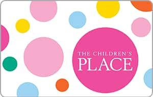 $50 children's place gift card for $40 + email delivery @ PPDG