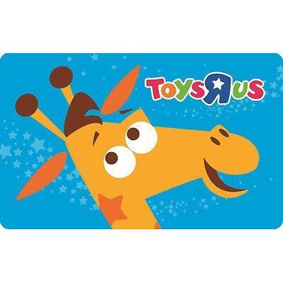 $50 ToysRus gift card for $40 + email delivery @ eBay