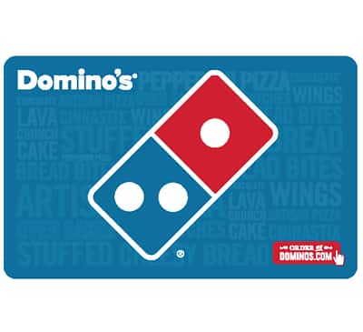 $25 Domino's gift card for $20 + email delivery @ eBay