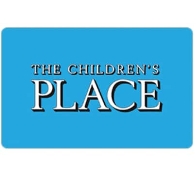 $50 children's place gift card for $42.50 + email delivery @ eBay