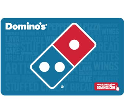 $50 Domino's Pizza gift card for $40 + email delivery @ eBay