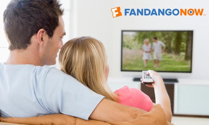 $35 Fandango now voucher for $25 or $20 voucher for $15 @ Groupon & living social