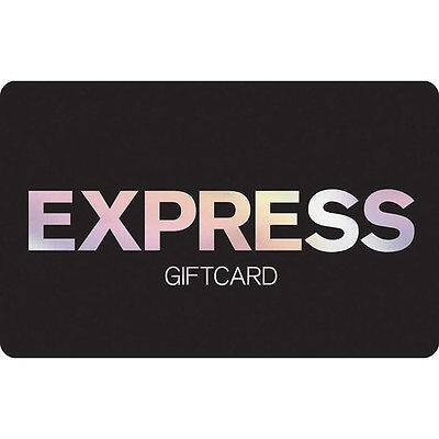 $50 Express gift card for $40 + email delivery @ eBay